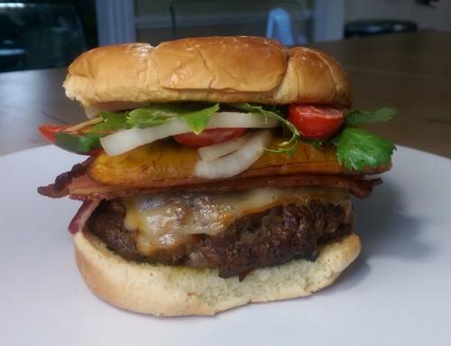 #IslandFlavor: The Freakin' Rican Burger